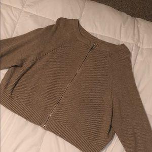Zara beige/camel/sand knit sweater